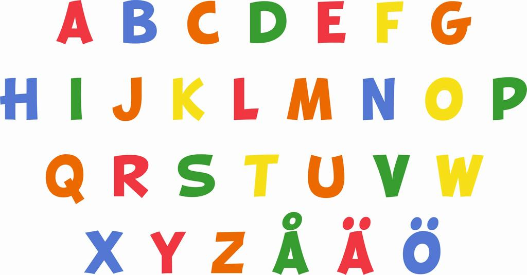 Alphabet Bog Letters